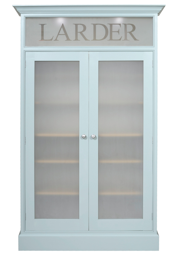 The Glazed Larder Cupboard - versitle, stylish and funtional
