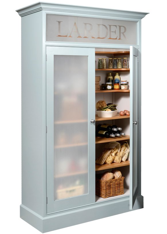 Larder Cupboard - finished in the colour of your choice