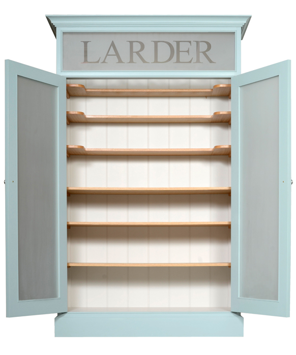 Larder Cupboard - open detail